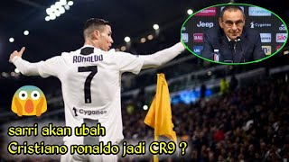 mengejutkan‼️ sari akan ubah Cristiano Ronaldo CR7 jadi CR9 😱 ?