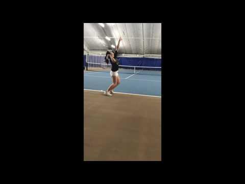 Chelsea Li Tennis Recruiting Video 2016