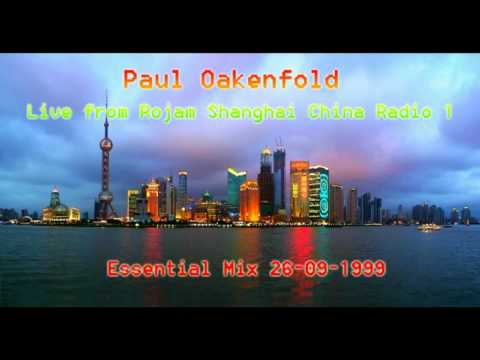 Paul Oakenfold - Live from Rojam Shanghai China Radio 1 Essential Mix 26-09-1999 Full 2 Hours HQ