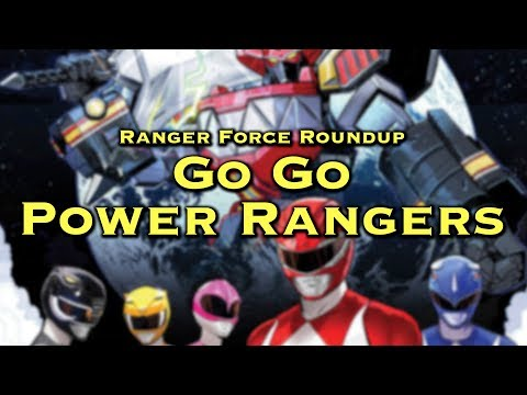 RANGER FORCE ROUNDUP: Power Ranger Comics, Busts, and a Megazord Cosplay!