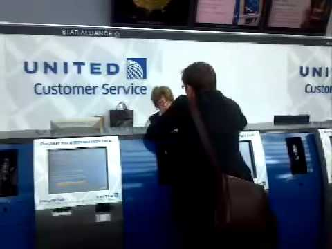United Airlines Customer Service Design