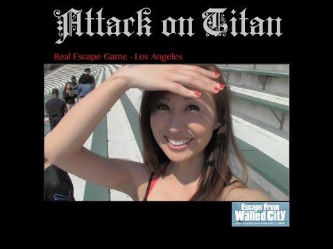 Attack on Titan Real Escape Game - LA