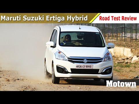 Maruti Suzuki Ertiga SHVS | Road Test Review | Motown India