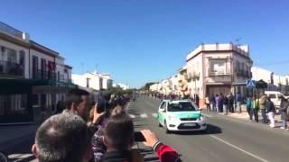 Vuelta Ciclista a Andalucía 2015.  Pasando por Manzanilla (Huelva)