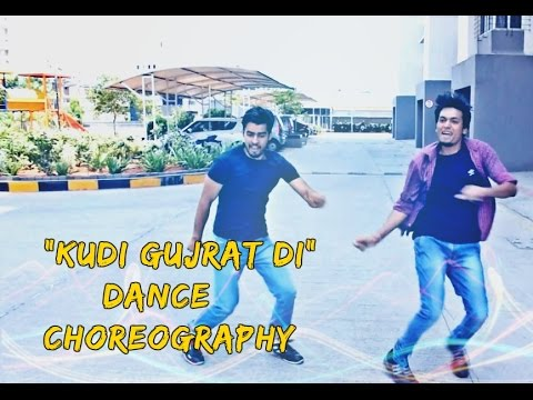 """Kudi Gujarat Di"" Song Dance Choreography | Sweetiee Weds NRI | Rohit Sangwan | Vikash Singh |"