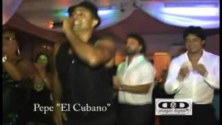 PEPE EL CUBANO EL SHOWMAN DE LA SALSA cumple de leticia