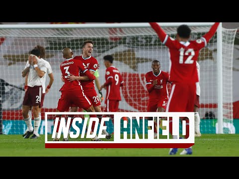 Inside Anfield: Liverpool 3-1 Arsenal | Behind-the-scenes as Reds win from behind