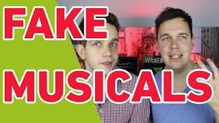Achtung: Fake Musicals (unsere Tipps für richtige Versionen!!)