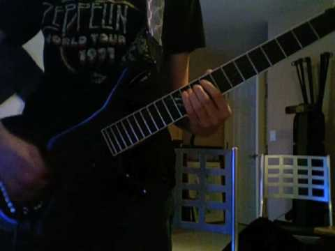 Muse - Knights Of Cydonia Cover W/ Live Solo Ending