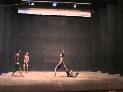 THE EFFORT ACROBATIC PYRAMID FROM AFRICA IN TANZANIA
