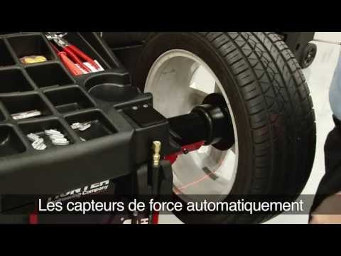 Équilibreur Diagnostic: Hunter Road Force® GSP9700 Tactile (French)