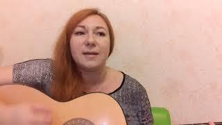 """Девушка поёт дворовую песню под гитару """" Малыш"""" (опять подвальные друзья)"""