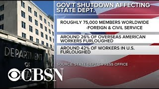 Shutdown straining U.S. diplomats worldwide
