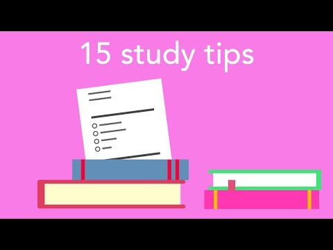15 study tips