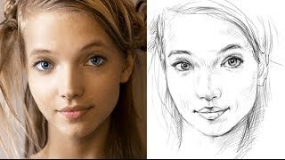 How To Draw A Face Accurately - Exercises To Improve Your Drawing