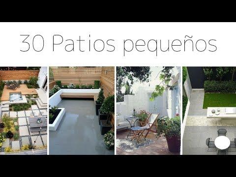 PATIOS / JARDINES PEQUEÑOS | 30 IMÁGENES PARA INSPIRACIÓN | Pabla en casa