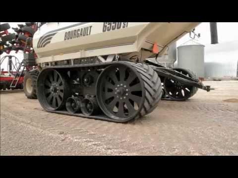Elmers Transfer Tracks - Adapts to: Air Seeder, Grain Cart, Fertilizer Caddy Farm Equipment