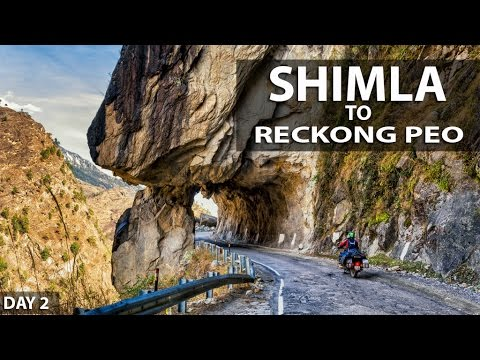 Shimla to Peo | Road to Spiti Himalayas | Winter ride - Day 2