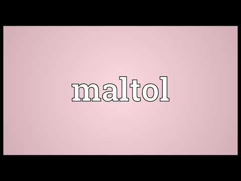 Header of maltol