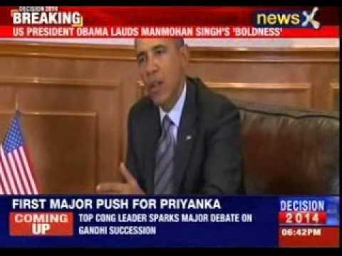 US President Barack Obama lauds Manmohan Singh's 'boldness'