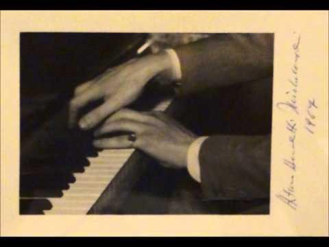 Arturo Benedetti Michelangeli  NY Carnegie Hall  1/21/1966