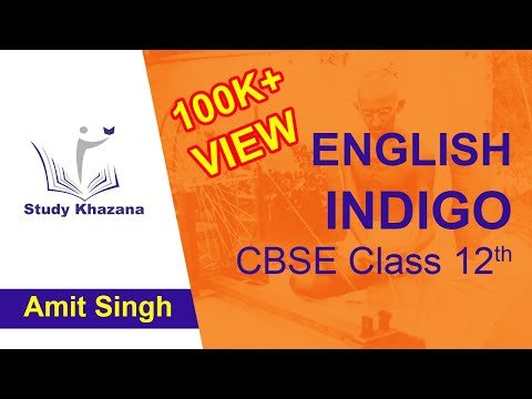 Class 12 English Flamingo - (Indigo) - Explanation Summary