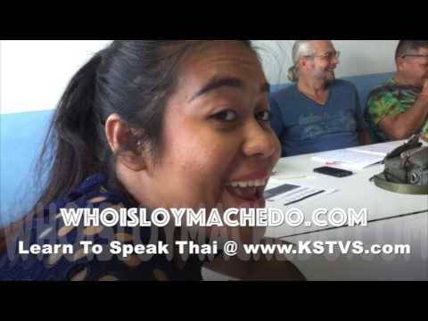 How To Learn Thai Language - The Funny Way with KSTVS - Day 8