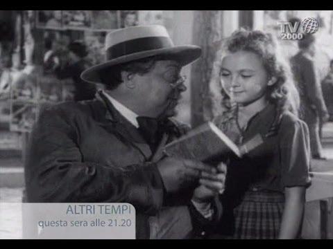 """""""Altri Tempi"""", di Alessandro Blasetti, con Aldo Fabrizi e Marisa Merlini. Martedì 24 alle 21.20"""