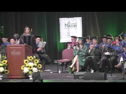 George Mason University 2015 College of Science Convocation