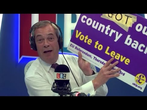 The Nigel Farage Show - Article 50 Finally Triggered - 29/03/2017