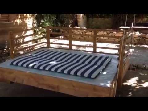 balancelle bois youtube. Black Bedroom Furniture Sets. Home Design Ideas
