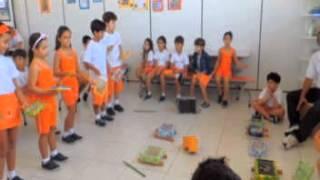 aula de musicalizao 2º ano b