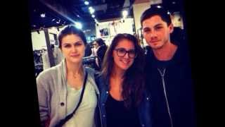 Alexandra Daddario and Logan Lerman- 2013