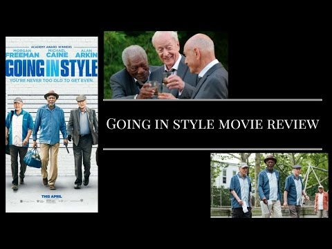 Going In Style Movie Review Spoilers!!! & Bloopers