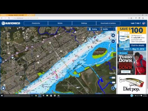 How to find new areas to fish using google earth and for Navionics fishing app