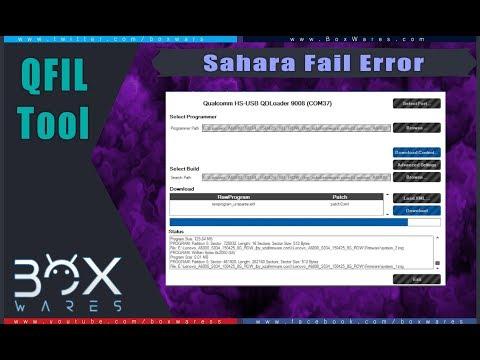 Fix QFIL Tool