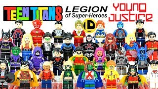 LEGO Teen Titans Go! Titans Young Justice & Legion of Super-Heroes Minifigure Collection