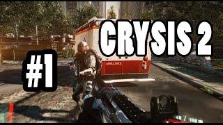 Crysis2 Walkthrough free 100% Part 1