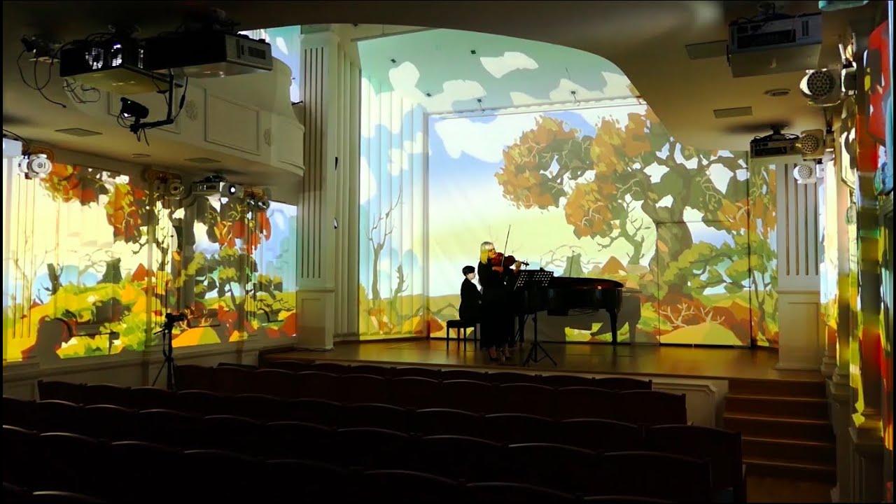Škola Crew - Wolfgang Amadeus Mozart Sonata for violin and piano KV 378 317d B flat Major