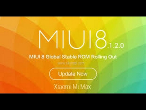 MIUI 8.2.1 STABLE ROM| Full ChangeLog | Review |
