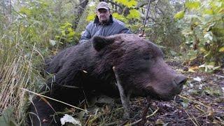 Охота на медведя на приваде  Якутия