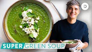 RECIPE: Easy SUPER Green Soup!
