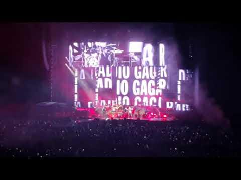 Queen + Adam  - Radio Ga Ga (Suncorp Stadium, 13 February 2020, Brisbane Australia)