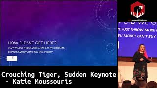 #HITB2018DXB KEYNOTE 1: Crouching Tiger, Sudden Keynote - Katie Moussouris