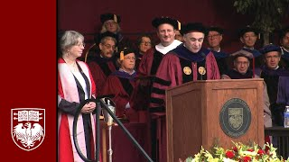 The 515th Convocation, University Ceremony - The University of Chicago