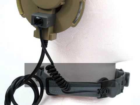 AirShop-gun Airsoft: Throat Micro pour Casque Bowman EVO III ACU