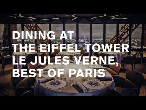 Le Jules Verne: Eiffel tower dining [where to eat in Paris]