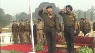 NCC Day Guard of Honour by Cadets of Sainik School Kapurthala