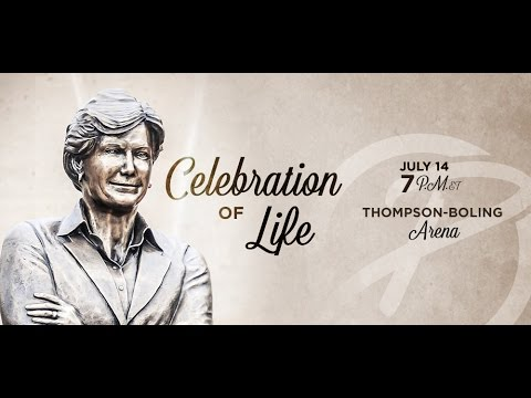 Celebration of Life service for Pat Summitt