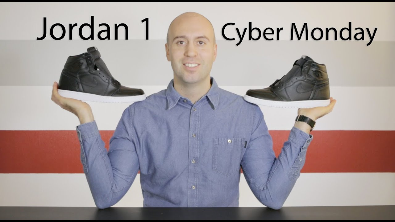 875e55d3724c02 Air Jordan 1 Retro OG Cyber Monday - Review + Unboxing + On Feet + Close up  - Mr Stoltz 2015